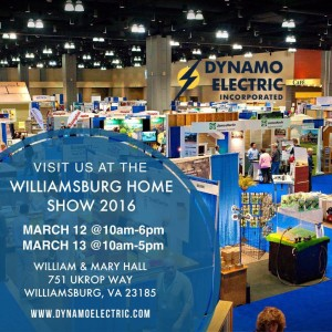 Dynamo Electric - Williamsburg Home Show - Electricians & Generac Whole House Generators