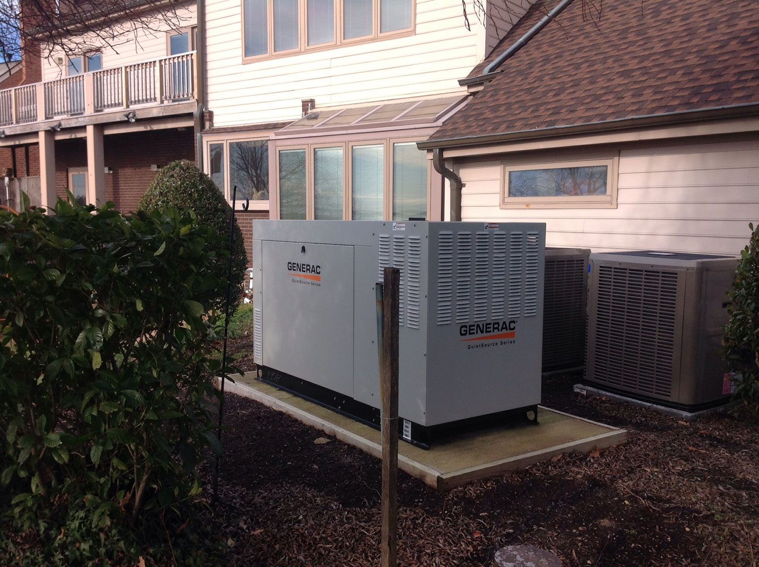 Whole House backup generators by Dynamo Electric of Williamsburg Virginia