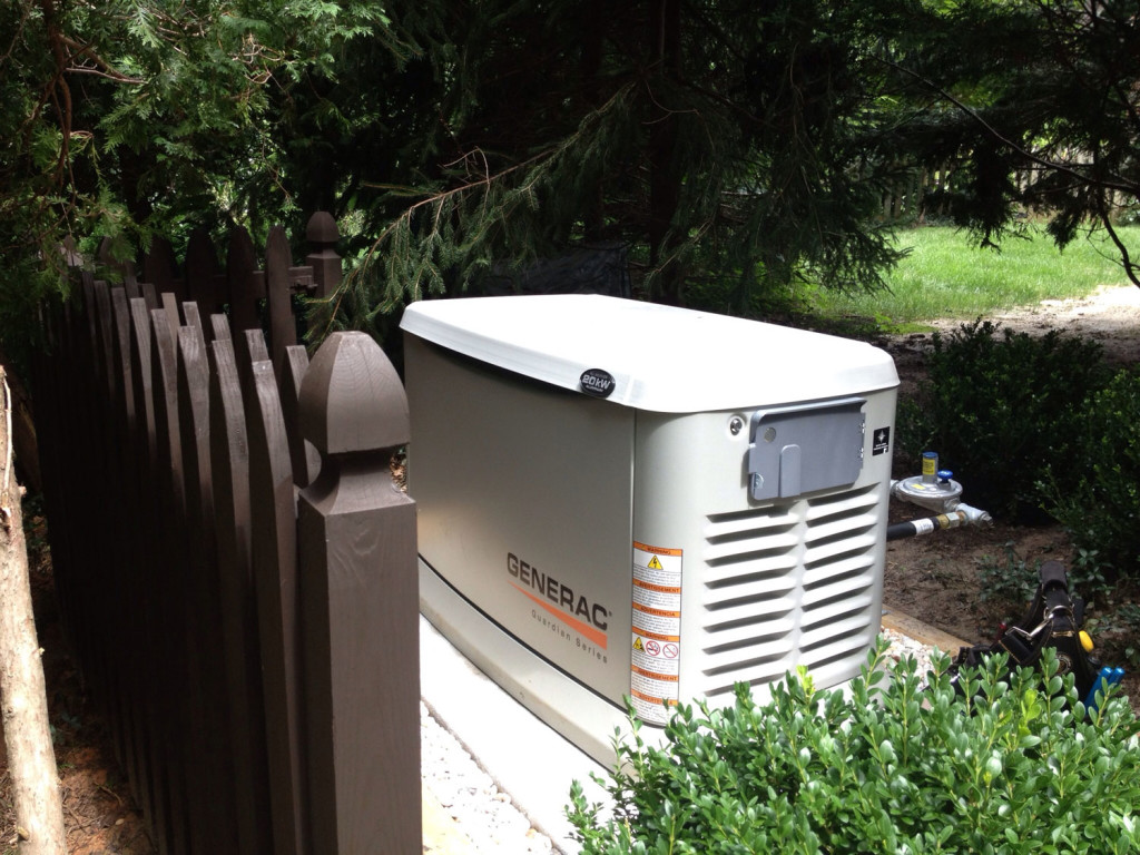 Generac Power Generator - Installed and service by Dynamo Electric serving the Williamsburg area of Virginia
