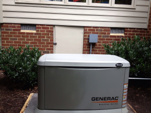 Generac Generators installed and serviced by Dynamo Electric of Williamsburg VA