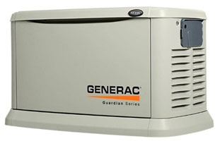 Generac Generators installed by Dynamo Electric Williamsburg VA