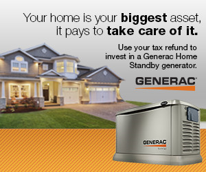Generac Whole House generators - Installed by Dynamo Electric - Williamsburg VA