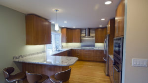 kitchen lighting by Dynamo Electric